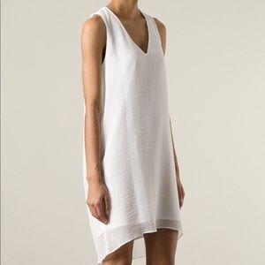 Helmut Lang Textured Sleeveless Dress